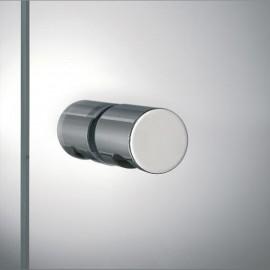Paire de bouton de tirage pour pare-douche et porte