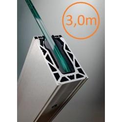 Kit complet Rail Defender® pour garde-corps en verre - 1,5 mètres linéaires